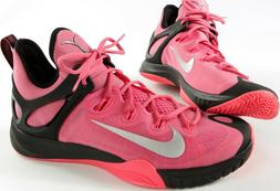 NIKE Zoom HyperRev 2015 shoes- Think PINK- 12- NEW-breast ca